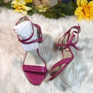 Michael Kors Crisscross Strappy Sandals 7.5